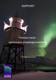 lage en rapport - Tromsø kommune