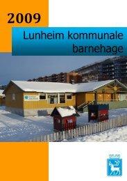 Lunheim kommunale barnehage - Tromsø kommune