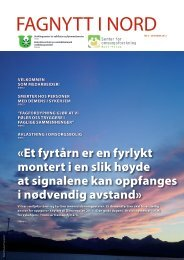 FAGNYTT I NORD - Universitetet i Tromsø