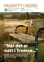 """""""Når det er natt i Tromsø..."""" FAGNYTT I NORD - Tromsø kommune"""