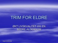 TRIM FOR ELDRE