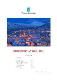 ØKONOMIPLAN 2009 – 2012 - Tromsø kommune