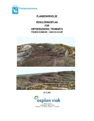 planbeskrivelse reguleringsplan for ... - Tromsø kommune