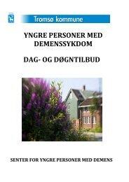 Folder: Demens for yngre personer - Tromsø kommune