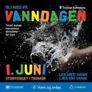 Folder Vanndagen 2013 - Tromsø kommune