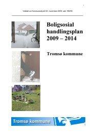Boligsosial Handlingsplan 2009-2014 Tromso ... - Tromsø kommune