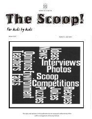 Scoop. - Emanuel School