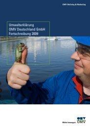 Umwelterklärung OMV Deutschland GmbH Fortschreibung ... -  EMAS
