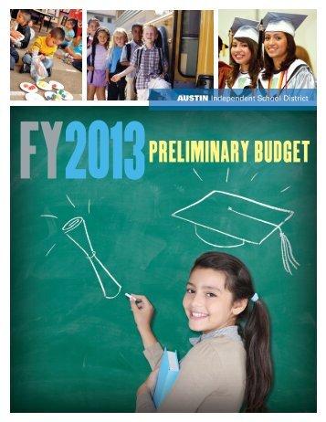 2013 budget - Austin ISD