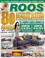 80 Jahre Möbel Roos