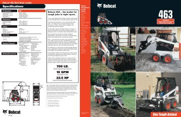 Bobcat - Hares Hire Services Ltd