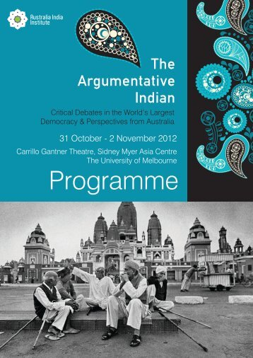 Final conference programme