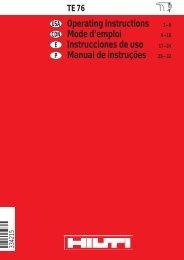 Operators Manual as .pdf file - St. Thomas Rent-All