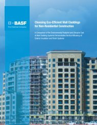 Eco-efficiency Brochure - Acrocrete - BASF.com