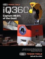 iQ360™ Spec Sheet - iQ Power Tools