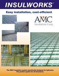 AMC Insulworks Product Data Sheet - Brock White