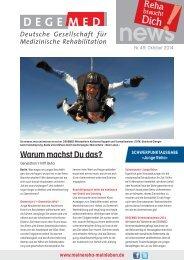 DEGEMED News 49 Oktober 2014