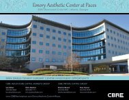 Emory Aesthetic Center at Paces - CBRE Marketplace