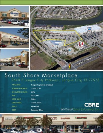 South Shore Marketplace - CBRE Marketplace