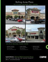 Rolling Acres Plaza - CBRE Marketplace