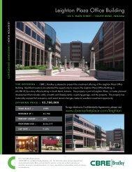 Leighton Plaza Flyer.indd - CBRE Marketplace