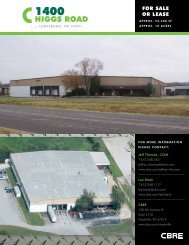 HiggS ROAd - CBRE Marketplace