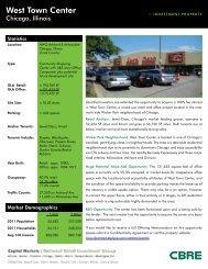 West Town Center - CBRE Marketplace