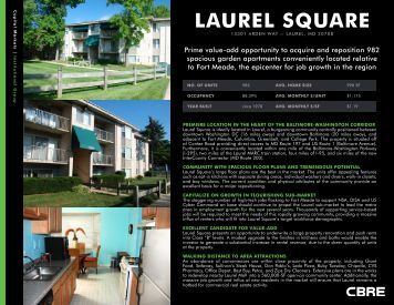 LAUREL SQUARE - CBRE Marketplace
