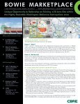Bowie Marketplace - CBRE Marketplace - Page 2
