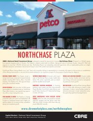 NORTHCHASE PlAzA - CBRE Marketplace