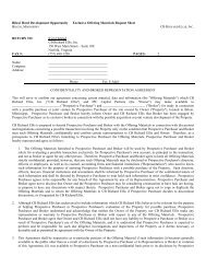 Download the file version of the Confidentiality Agreement - CBRE ...