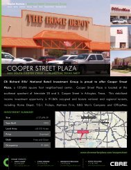 Cooper street plaza - CBRE Marketplace