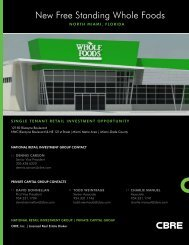 New Free Standing Whole Foods - CBRE Marketplace