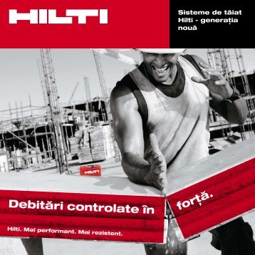 """""""Debitări controlate"""".pdf(3.43MB) - Hilti"""
