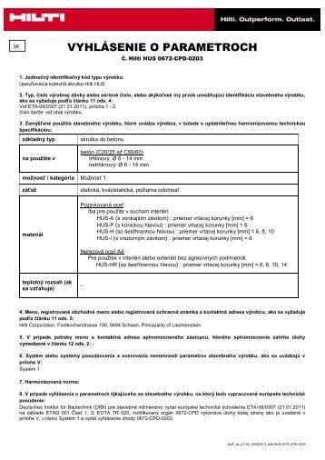 Súbor Adobe Acrobat (.pdf) - Hilti