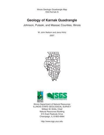 Geology of Karnak Quadrangle - Illinois State Geological Survey