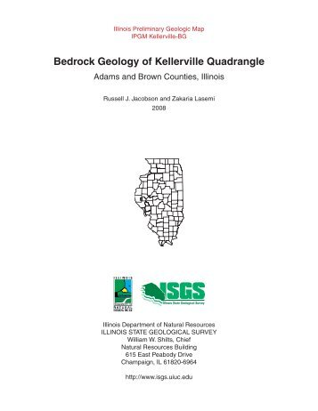 Bedrock Geology of Kellerville Quadrangle - Illinois State Geological ...