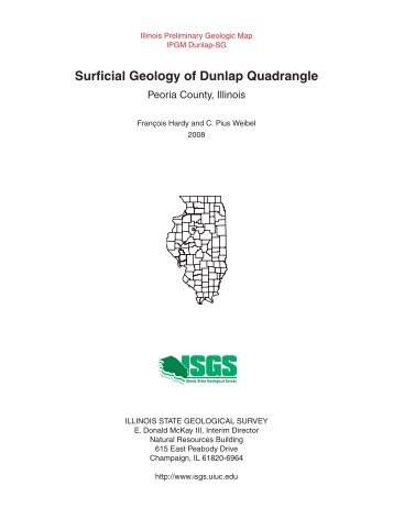 Surficial Geology of Dunlap Quadrangle - Illinois State Geological ...