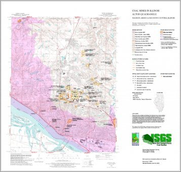 Vergennes Quadrangle Map And Directory Illinois State Geological - Illinois state geological survey