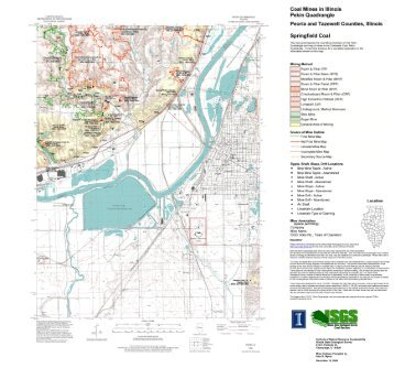 Quadrangle Map And Directory Illinois State Geological Survey - Illinois state geological survey