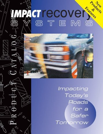 Impact Recovery Full Catalog - Matlack Sales and Marketing, Inc.