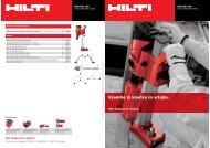 Hilti Online Maintenance