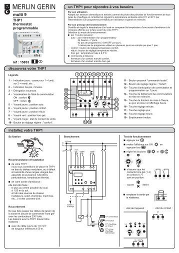 Merlin Gerin Multi 9 Ihp 1c Instructions