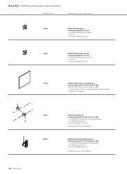 Serie 801 | HEWI Rosettenkappen siehe Ersatzteile