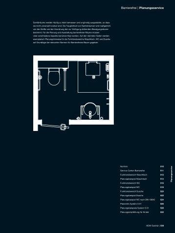 Planungshinweise - HEWI