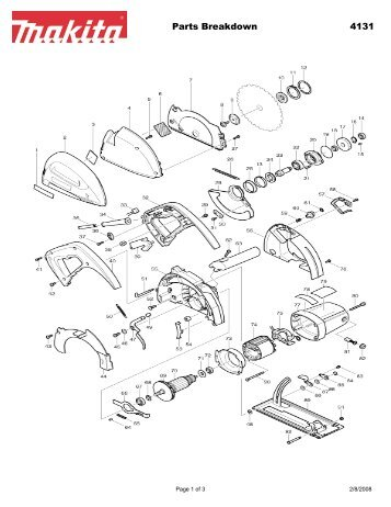 Wiring diagram 1 for Circular saw diagram
