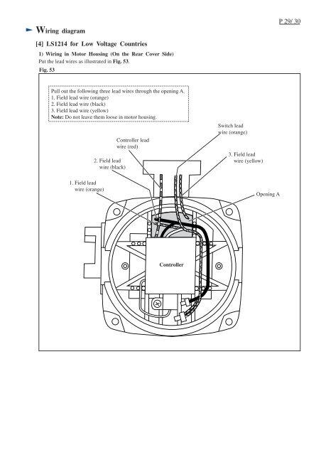 Wiring diagram P 29/ 30 [ on