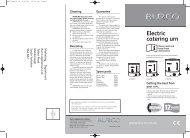 C20 - Electric Water Boiler - JW Hire & Sales Ltd