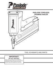 Paslode - IM350 - 1st Fix Cordless Nail Gun