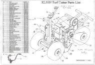 PM55HSP - Petrol Turf Cutter